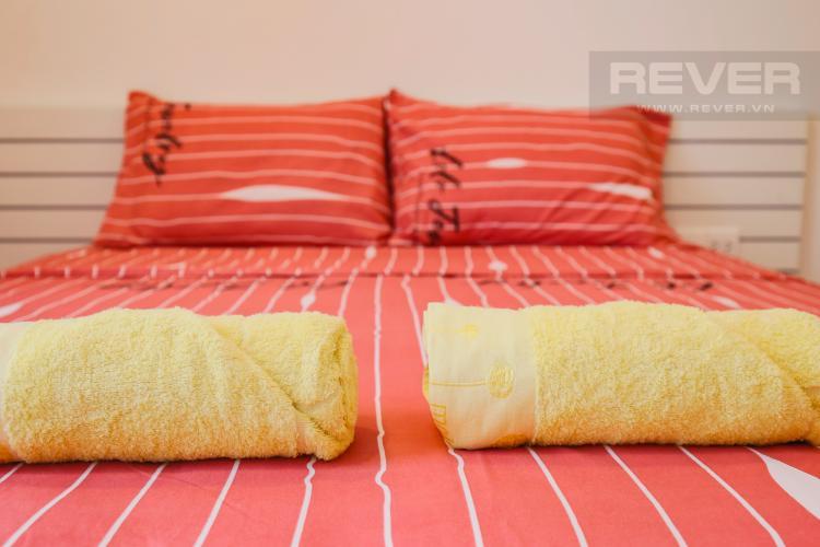 Giường Ngủ Bán căn office-tel RiverGate Residence 1PN, đầy đủ nội thất, view đẹp