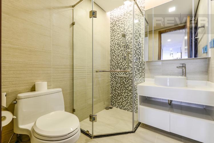 Phòng tắm 3 Căn hộ Vinhomes Central Park 3 phòng ngủ tầng trung P4 view sông