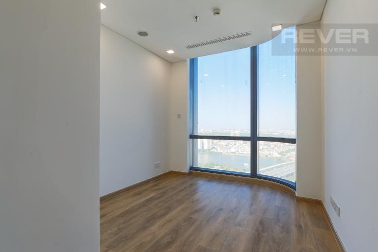 Phòng Ngủ 2 Căn hộ Vinhomes Central Park 2PN, tầng cao, tháp Landmark 81, view sông