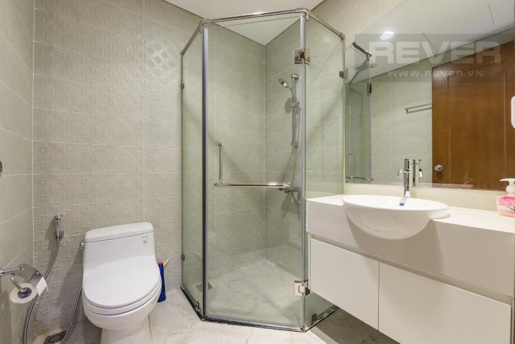 Phòng tắm 2 Cho thuê căn hộ Vinhomes Central Park 3PN, tầng 37 tháp Landmark 5