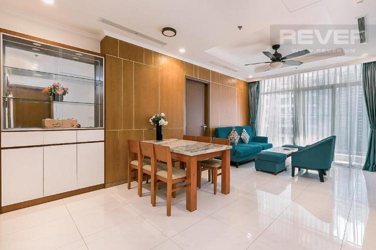 Cho thuê căn hộ Vinhomes Central Park 3PN, tháp Landmark 1, đầy đủ nội thất, view nội khu