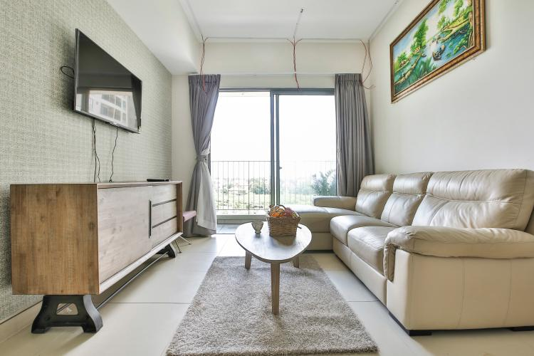 Phòng Khách Căn hộ Masteri Thảo Điền tầng thấp T5 đầy đủ tiện nghi, view nội khu