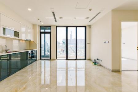 Officetel Vinhomes Golden River 2 phòng ngủ tầng trung A4 hướng Đông Bắc