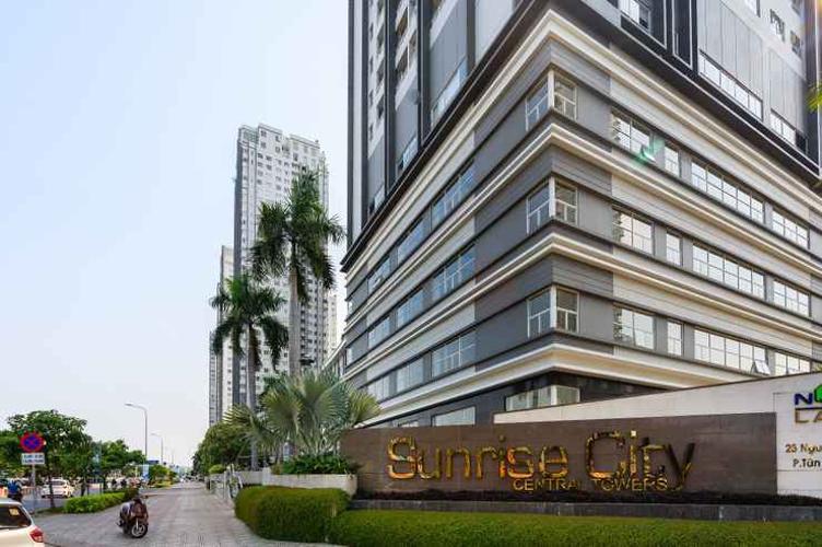Sunrise City, Quận 7 Căn hộ tầng cao Sunrise City đầy đủ nội thất, view thành phố.