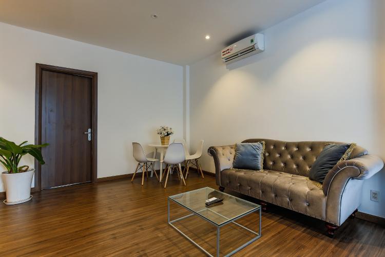 Căn hộ dịch vụ 2 phòng ngủ đường Cao Thắng trang bị nội thất hiện đại