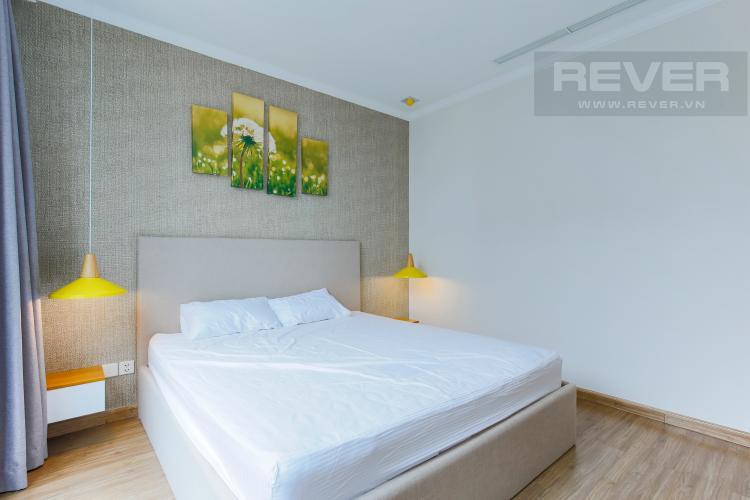 Phòng Ngủ 1 Căn hộ Vinhomes Central Park tầng cao tháp Central 3,2 phòng ngủ, full nọi thất