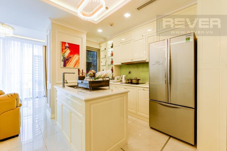 Bếp Căn hộ Vinhomes Central Park 3PN đầy đủ nội thất, có thể dọn vào ở ngay