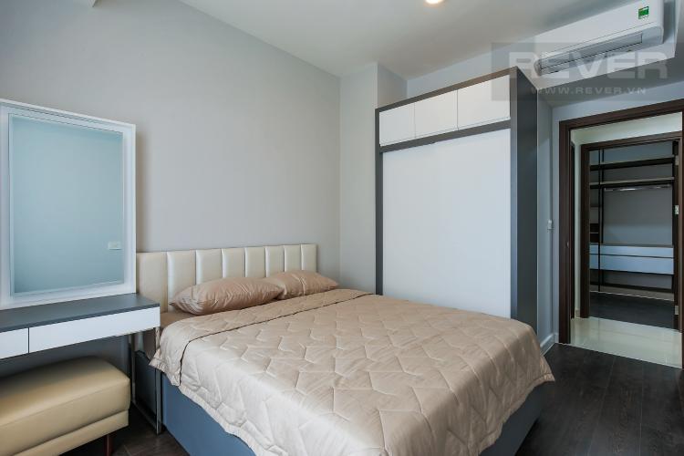 Phòng Ngủ 1 Căn hộ The Tresor 2 phòng ngủ tầng trung TS1 view nội khu