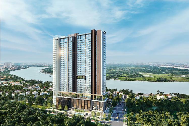 Chung cư Q2 THAO DIEN Căn hộ Q2 Thảo Điền tầng cao nội thất cơ bản, dọn vào ở ngay.