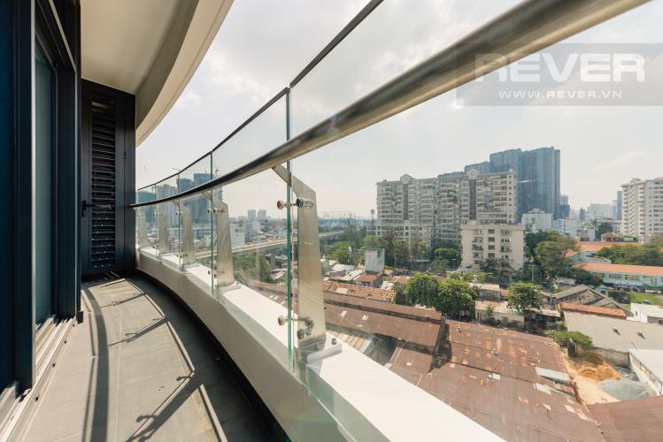 Balcony Cho thuê căn hộ City Garden 1 phòng ngủ, diện tích 65m2, tầng trung view mát mẻ