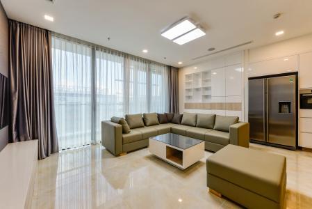 Cho thuê căn hộ Vinhomes Golden River tầng thấp, 3PN, đầy đủ nội thất