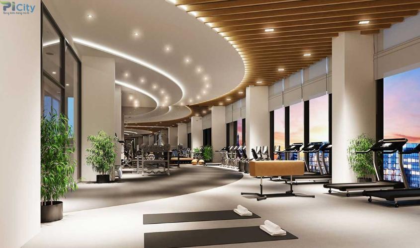 Tiện ích Picity High Park, Quận 12 Căn hộ Picity High Park tầng trung, bàn giao nội thất cơ bản.