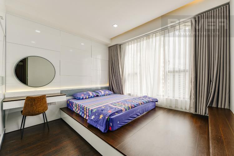 Phòng ngủ 2 Căn hộ The Tresor tầng trung, 3 phòng ngủ, hướng Tây Bắc, view sông