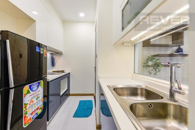 Bếp Căn hộ Vinhomes Central Park tầng trung, tháp Park 5, 2 phòng ngủ, view sông