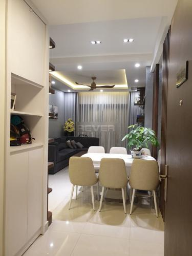 Phòng khách căn hộ The Sun Avenue, Quận 2 Căn hộ tầng 7 The Sun Avenue bàn giao đầy đủ nội thất tiện nghi.