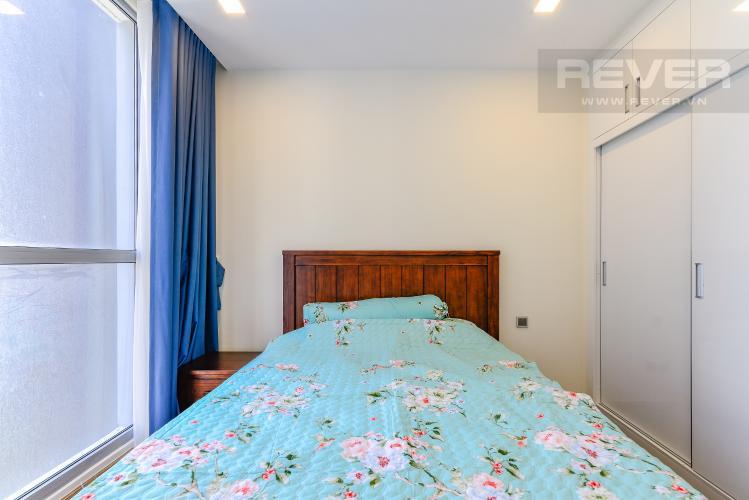 Phòng Ngủ 2 Căn hộ Vinhomes Central Park 3 phòng ngủ tầng cao P3 đầy đủ tiện nghi
