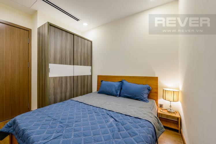 Phòng ngủ 2 Căn hộ Vinhomes Central Park 2 phòng ngủ tầng trung P1 view nội khu