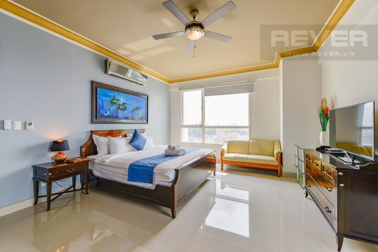 Phòng ngủ 1 Penthouse The Manor 4 phòng ngủ tầng cao AW nội thất đầy đủ