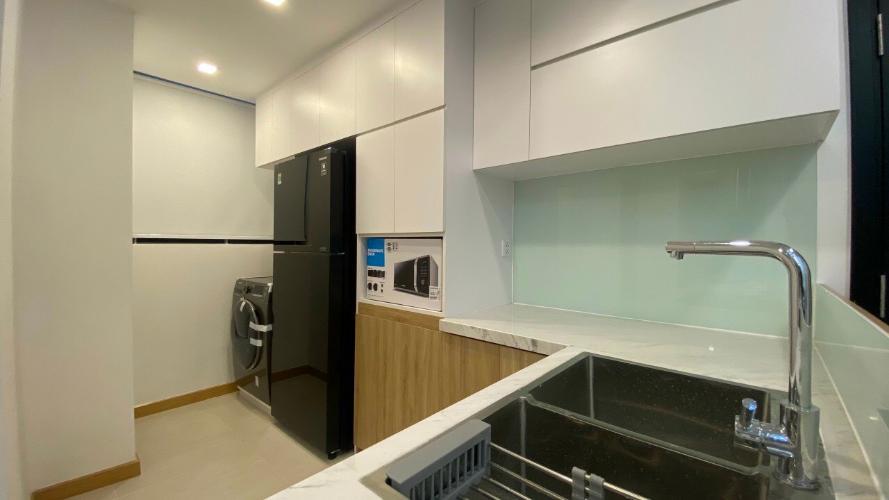 BẾP căn hộ Feliz En Vista Căn hộ Feliz En Vista tầng trung, view nội khu, đầy đủ nội thất.