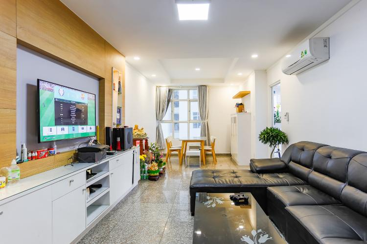 Căn hộ Hoàng Anh Thanh Bình 3 phòng ngủ tầng thấp nội thất mới đầy đủ