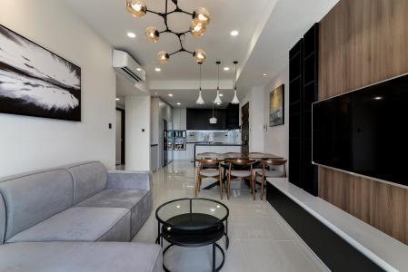 Cho thuê căn hộ Saigon Royal 3PN, tầng 11, tháp B, diện tích 175m2, đầy đủ nội thất, căn góc view thoáng