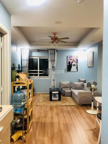 Căn hộ Đạt Gia Residence tầng cao, sàn gỗ nội thất cơ bản.