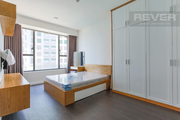 Phòng Ngủ 1 Căn hộ The Tresor 2 phòng ngủ tầng trung TS1 đầy đủ tiện nghi