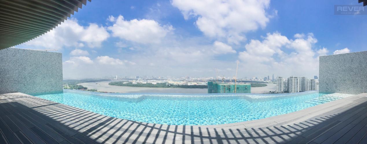 View Bán căn hộ Waterina Suites 3PN, tầng trung, diện tích 162m2, view hồ bơi