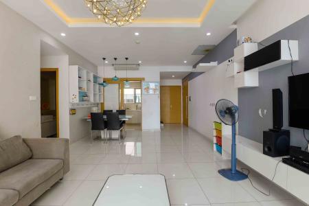 Bán căn hộ The Vista An Phú 3 phòng ngủ tầng trung tháp T1, đầy đủ nội thất, không gian yên tĩnh