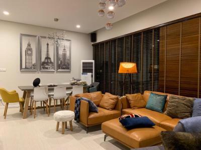 Bán hoặc cho thuê căn hộ Diamond Island - Đảo Kim Cương 3PN, diện tích 110m2, đầy đủ nội thất, căn góc view thoáng