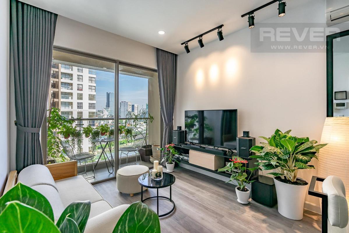 7973bc5d1111f74fae00 Bán căn hộ Masteri Millennium 2 phòng ngủ, block B, đầy đủ nội thất, view Bitexco