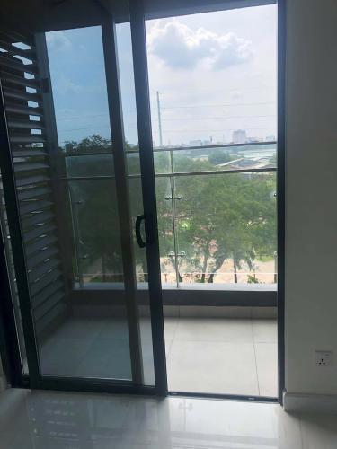 Ban công Căn hộ KINGDOM 101 Cho thuê căn hộ Kingdom 101 tầng thấp, diện tích 65m2 - 2 phòng ngủ, không có nội thất
