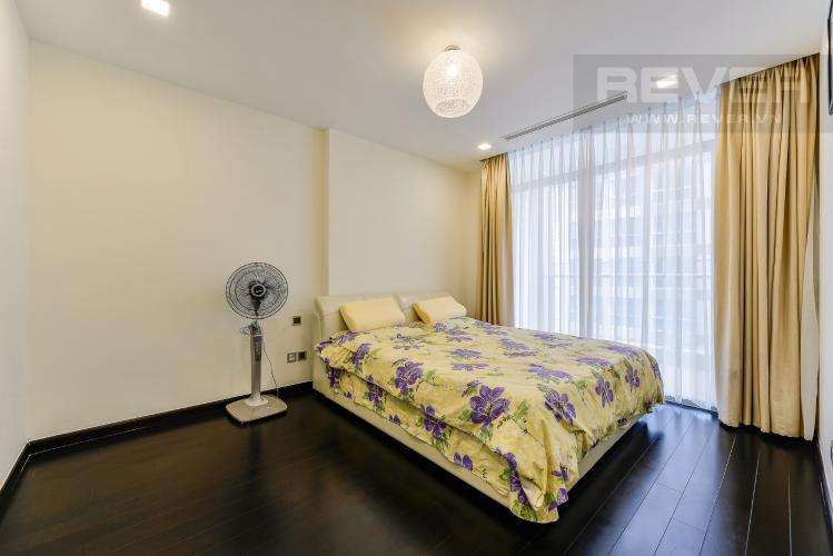 Phòng ngủ 1 Căn hộ Vinhomes Central Park 3 phòng ngủ tầng cao P3 hướng Bắc
