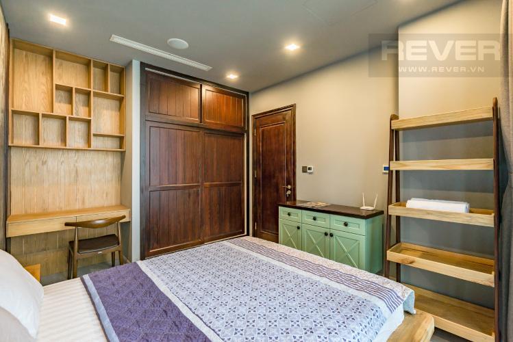 Phòng Ngủ Bán căn hộ Vinhomes Golden River 1PN, tầng cao, đầy đủ nội thất, view sông thoáng mát