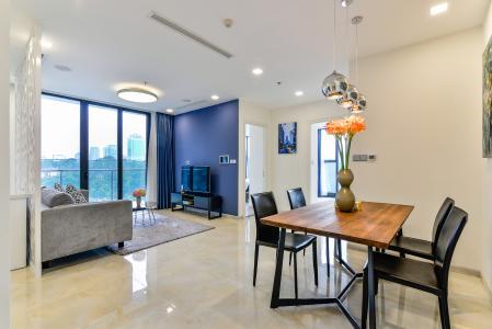 Căn hộ Vinhomes Golden River tầng thấp, tháp A1, 3 phòng ngủ, full nội thất