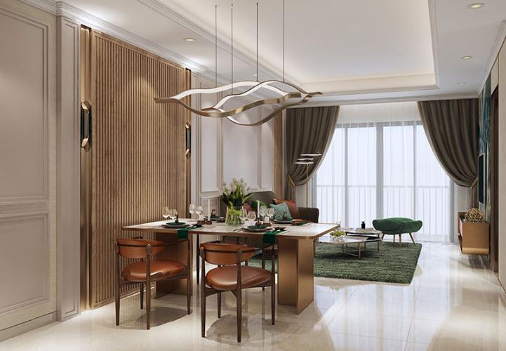 Nhà mẫu Opal Boulevard Căn hộ tầng cao Opal Boulevard nội thất cơ bản.