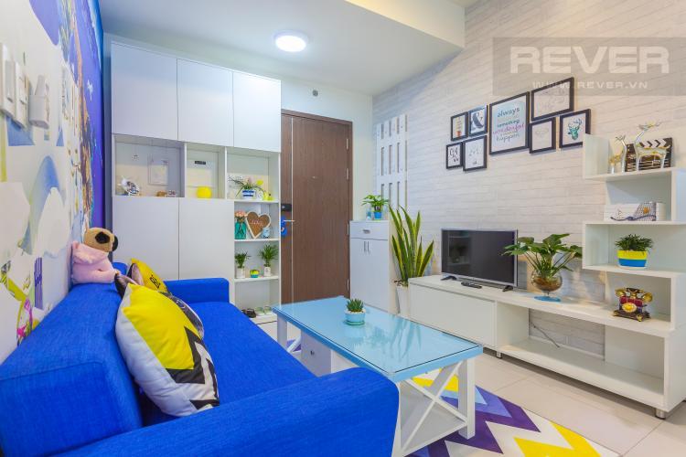 Phòng khách căn hộ LEXINGTON RESIDENCE Cho thuê căn hộ 1PN Lexington Residence, tầng trung, thiết kế trẻ trung, đầy đủ nội thất