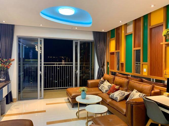 Phòng khách căn hộ Palm Heights Cho thuê căn hộ Palm Heights 3 phòng ngủ, diện tích sử dụng 105m2, đầy đủ nội thất cao cấp