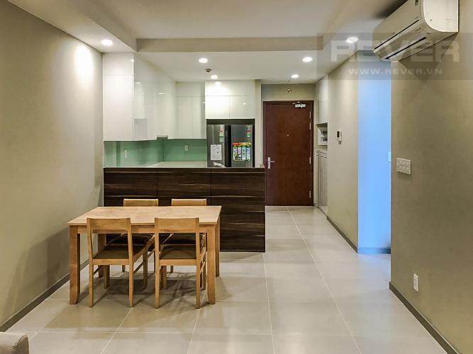 Phòng Ăn Cho thuê căn hộ The Gold View 2PN, tầng cao, đầy đủ nội thất, view sông và Bitexco