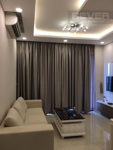 Phòng Khách Cho thuê căn hộ Estella Heights 1PN, tháp T1, diện tích 59m2, đầy đủ nội thất