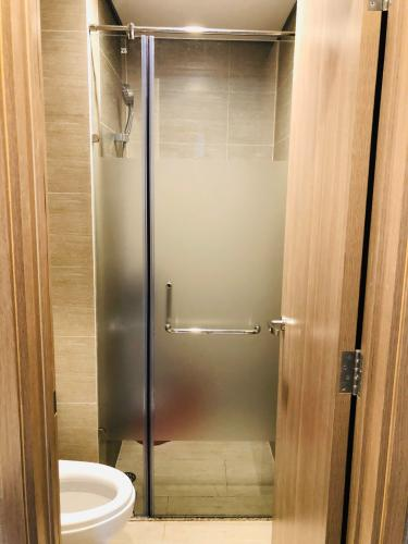 Phòng tắm Vinhomes Grand Park Quận 9 Căn hộ Vinhomes Grand Park view nội khu, đầy đủ tiện nghi.