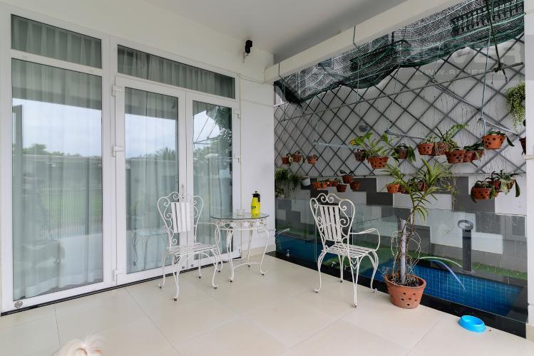 Sân Bán nhà phố 3 tầng, đường Cao Đức Lân, An Phú, Quận 2, đầy đủ nội thất, sổ hồng chính chủ