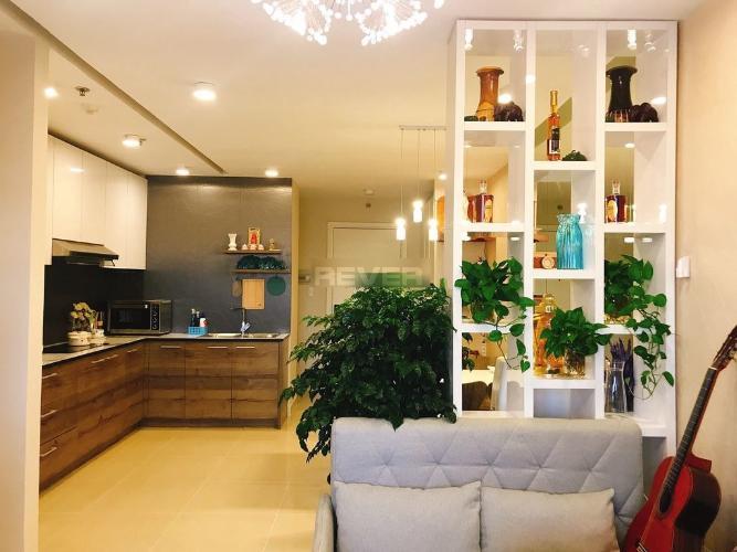 Căn hộ Saigonland Apartment, Bình Thạnh Căn hộ Saigonland Apartment tầng cao 2 phòng ngủ view Landmark 81.