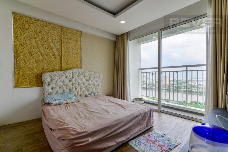 Phòng Ngủ 1 Bán căn hộ Tropic Garden 3 phòng ngủ tầng cao, đầy đủ nội thất, không gian yên tĩnh, mát mẻ
