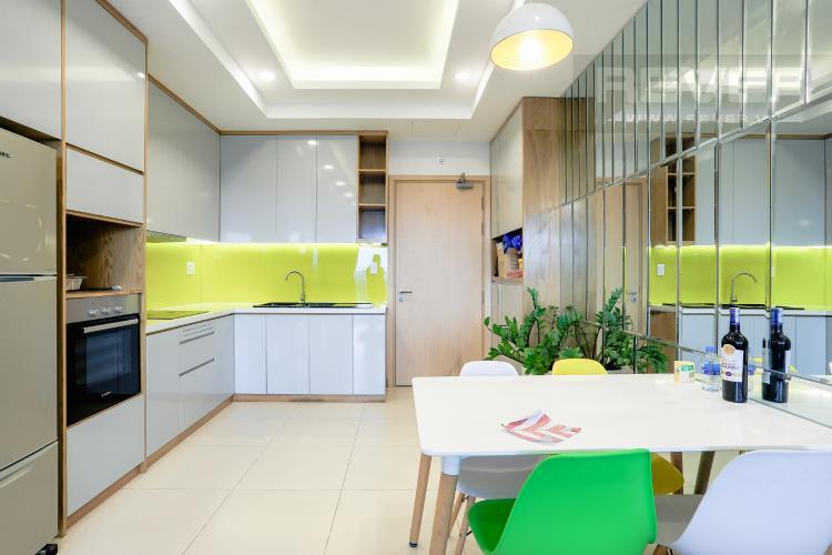Phòng Ăn Bán căn hộ M-One Nam Sài Gòn tầng trung, 2PN đầy đủ nội thất
