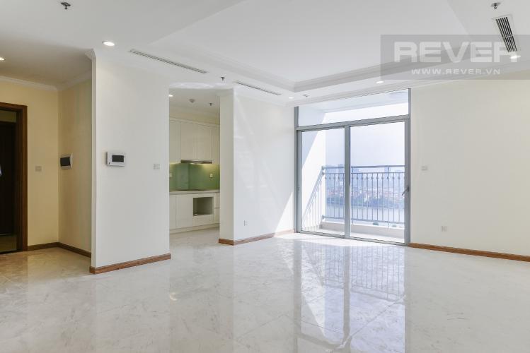 Phòng Khách Căn hộ Vinhomes Central Park 4 phòng ngủ tầng trung L1 view sông
