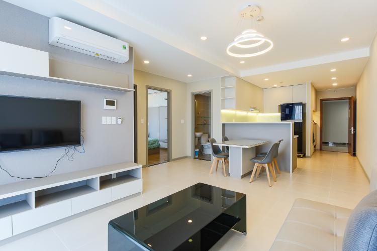 Căn hộ The Gold View 2 phòng ngủ tầng cao tháp B nội thất có sẵn