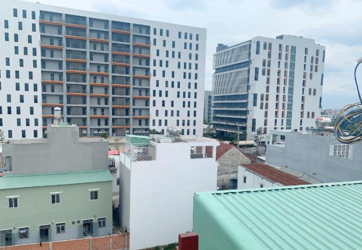 View nhà phố Nguyễn Thái Sơn, Gò Vấp Nhà phố gần đại học Văn Lang, hướng Tây hẻm xe hơi 5m.