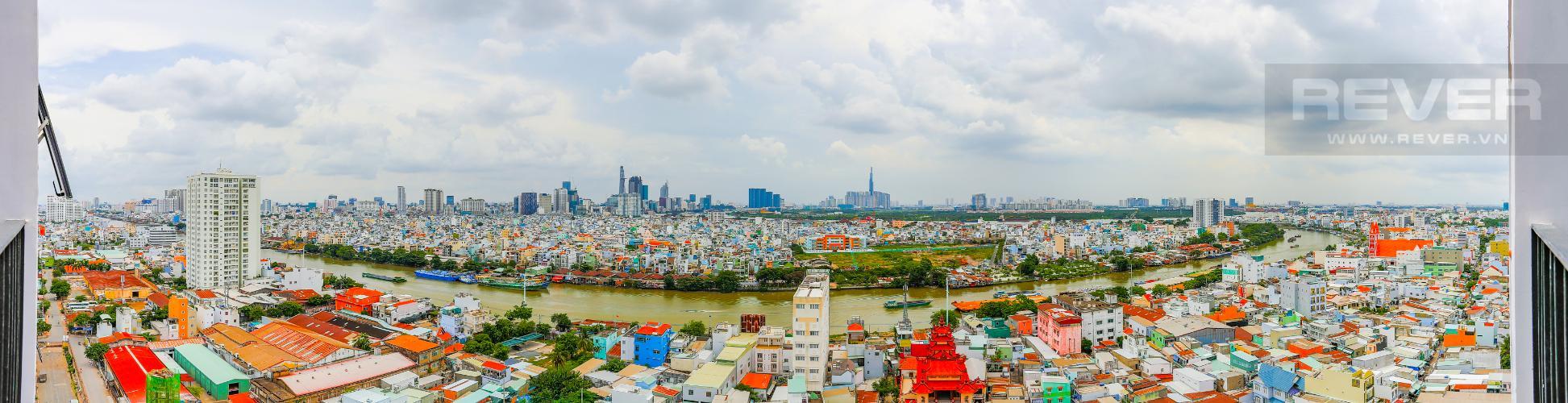 View Căn hộ M-One Nam Sài Gòn 2 phòng ngủ tầng thấp T1 đầy đủ nội thất