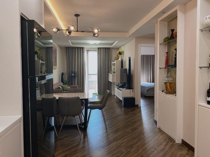 Nội thất căn hộ Saigon South Residence, Nhà Bè Căn hộ Saigon South Residence tầng cao hướng Tây, đầy đủ nội thất.